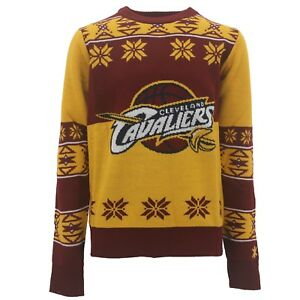 hot sales 08e68 8fe85 Details about Cleveland Cavaliers Official NBA Kids Youth Size Ugly Sweater  New Free Shipping