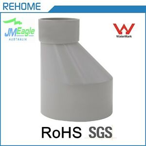 Details about 65mm-40mm DWV PVC level invert tapers M/F stormwater drainage  fittings