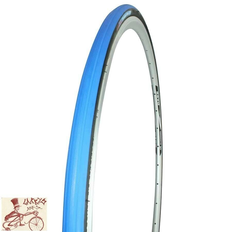 TACX  700  x 23c blueeE FOLDING TRAINER TIRE  great offers