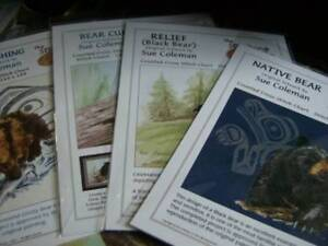 Sue-Coleman-Artwork-Bears-Native-Art-Cross-Stitch-Chart-Your-Choice