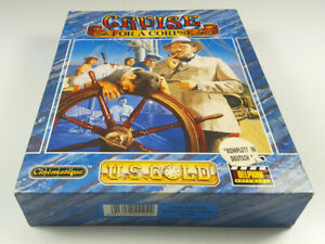 Cruise-for-a-Corpse-Delphine-Commodore-Amiga-Spiel-Big-Box-OVP-sgZ-VGC-Deutsch