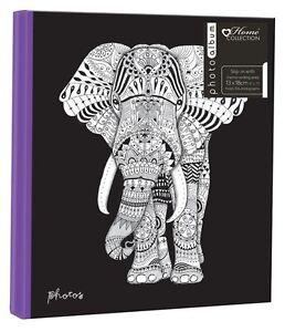 "Zen Elephant 5"" x 7"" - 13x18cm Slipin album photo avec memo area - 104 Photos  </span>"
