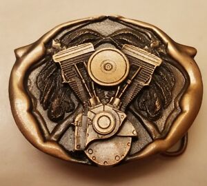 Twin Cam Del Motor Hebilla de cinturón