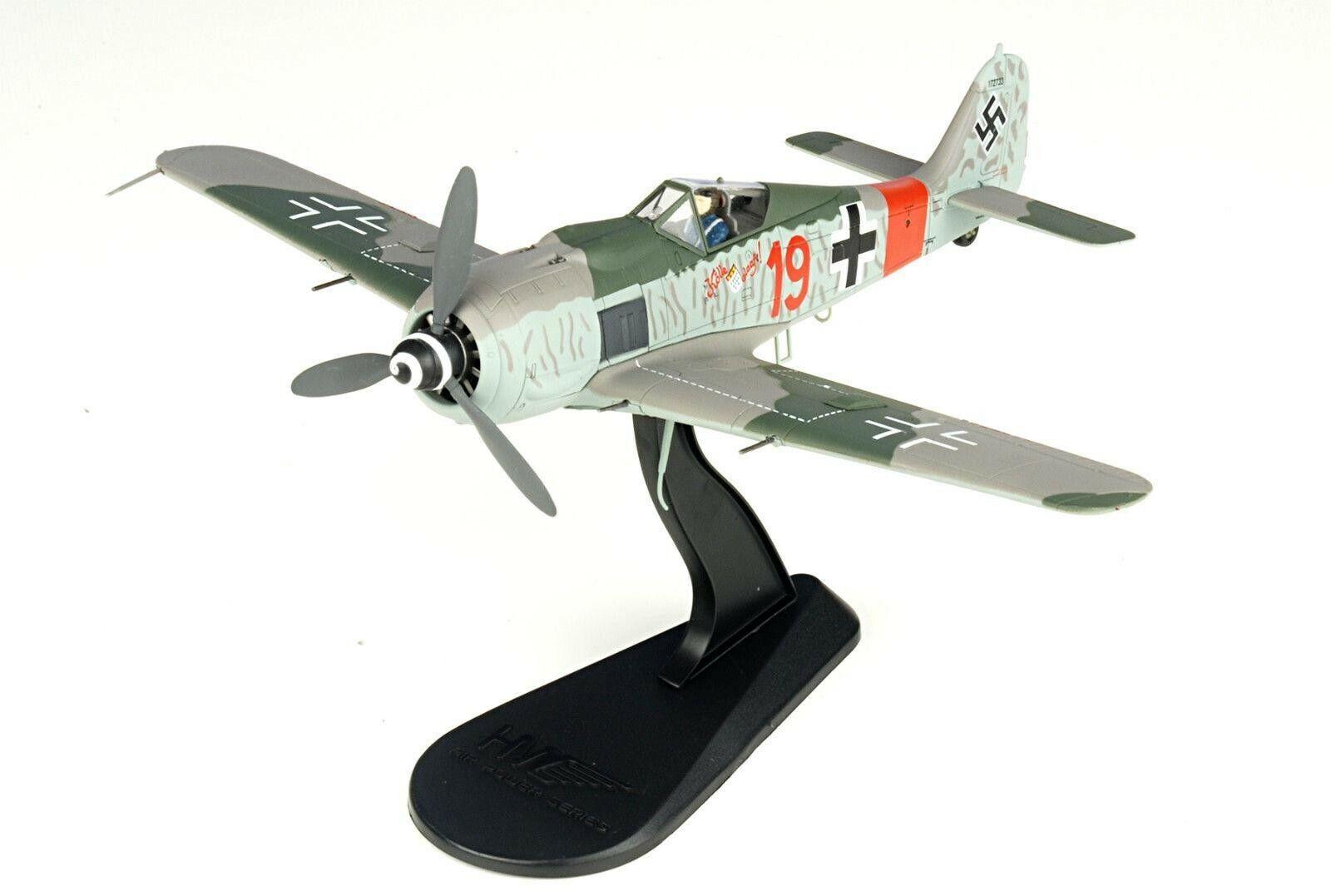 HOBBYMASTER 1 48 FW-190A-8 5 II II II JG300 Unteroffizier Ernst Schroder 1944 d15210