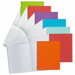 6 X PACK A5 Exercise Lined Books School Notebooks pages Class Children Homework