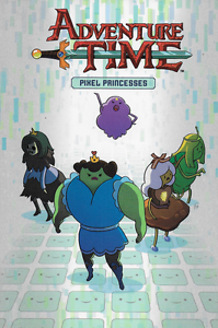 Adventure-Time-OGN-Vol-2-Pixel-Princess-by-Ward-amp-Corsetto-2013-PB-kaBOOM-OOP