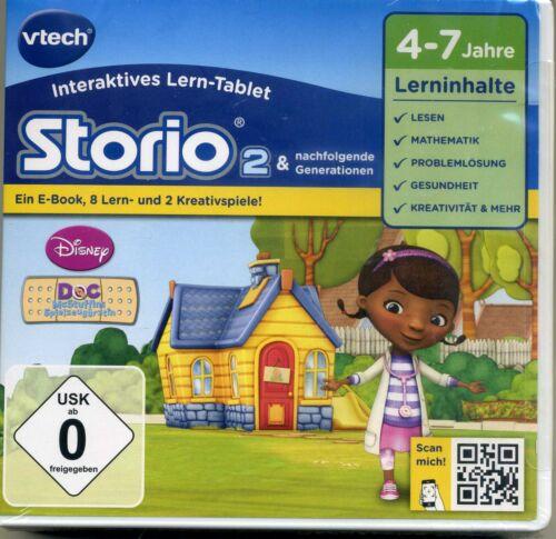 Storio 2 Disney Vtech Doc McStuffins Spielzeugärztin versch. Lerninhalte K2351