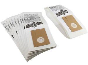Paquete-De-10-bolsas-de-papel-para-polvo-Truvox-Vcu-vuv-qd-Valet-Vertical
