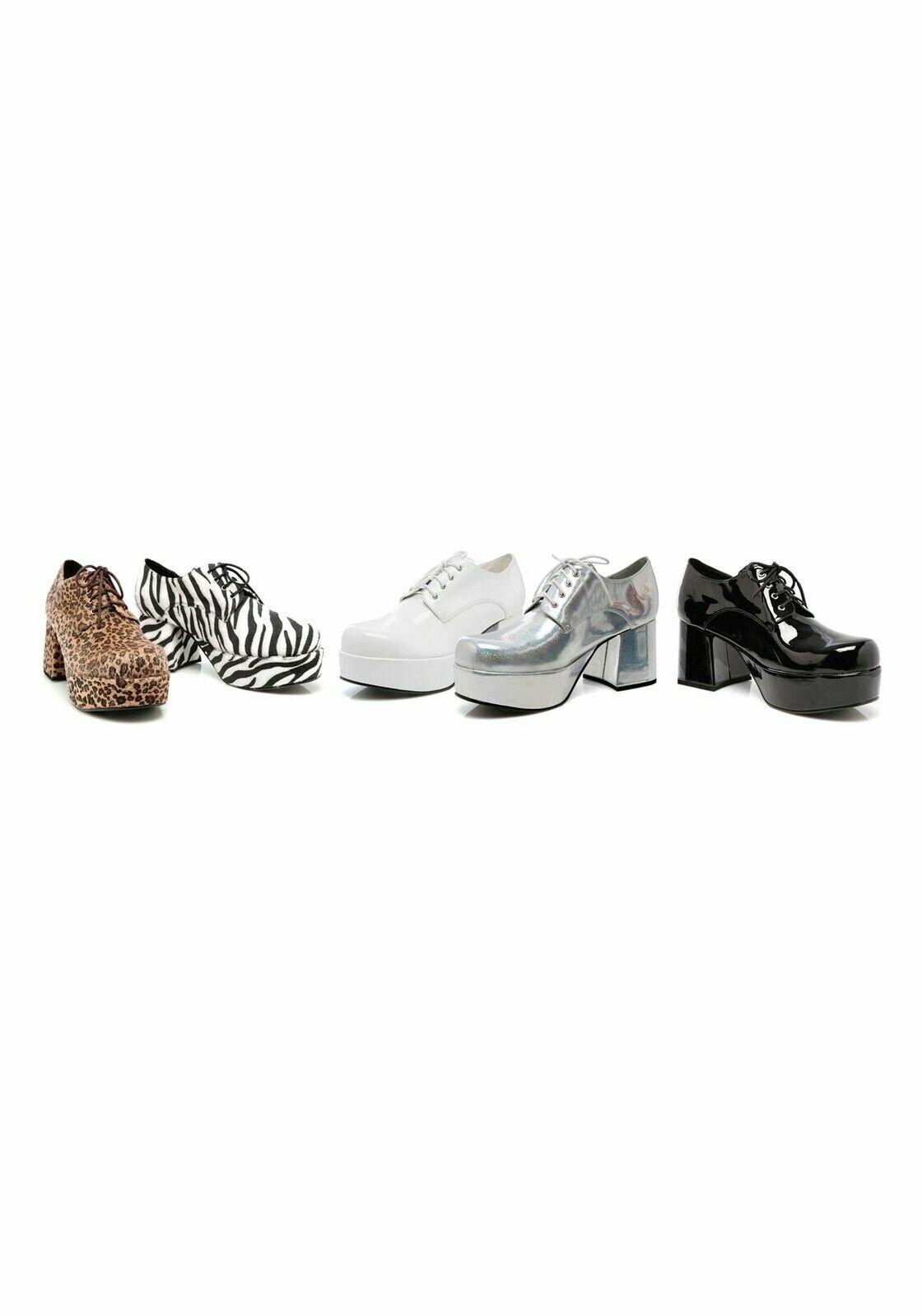Ellie shoes 312-PIMP Men's 3 Inch Heel Platform shoes