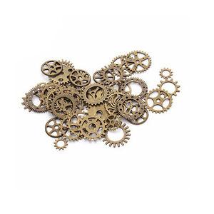 Jewelry & Watches 100% Quality Zahnrad Mix Zahnräder Schmuck Anhänger Steampunk Gothic Basteln Kette Antik Nvr3