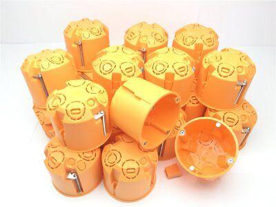 1-100 Hohlwanddose Schalterdosen Gerätedose 61mm Tief D= 68mm Dosen