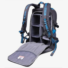 DSLR SLR Camera Backpack Rucksack Bag Case Shockproof Waterproof for Canon Nikon