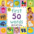 First 50 Words by Roger Priddy (Board book, 2014)