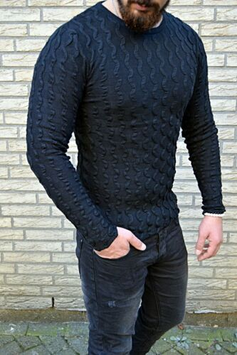 YOUNG FASHION PULLOVER Knitwear Longsleeve Strick Body Fitness Design Pullover