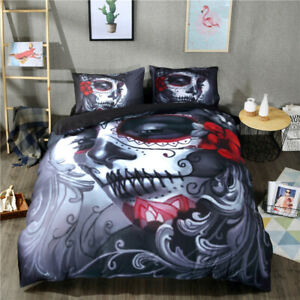 2-3pcs-Quilt-Duvet-Cover-Set-Twin-Queen-King-Size-Bedding-Set-US-Wongs-Bedding