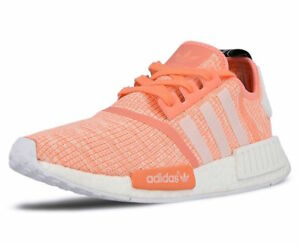 0a44ee88c Adidas Women s NMD R1 Sun Glow  White Haz-Coi-BY3034