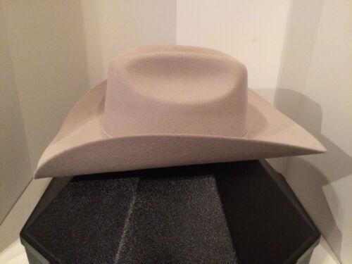 Lone Star Cowboy Hat 5X Silverbelly Size 7 5/8