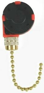 details about new jandorf 60303 black 3 speed 4 wire ceiling fan switch pull chain 3404514 ac switch wiring diagram jandorf fan switch wiring diagram #11