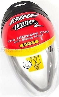 Sliding shorts supporter cup combo Proflex 2 Adult Mens Bike Athletic B762UNP