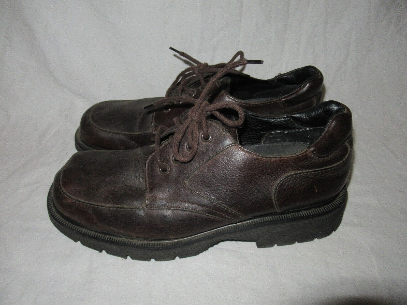 Dr. Doc Martens 9260 Made in England 4 Eye Brown leather shoes Men Size 10 USA