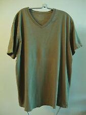 J. Crew Broken-In Men's Short-Sleeve V-neck T-Shirt in Army Green - Size L