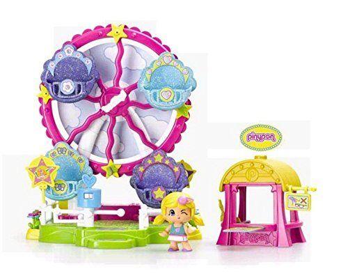 Das Riesenrad des Pinypon Fair Spielzeug Polig und pon Kinder- Mädchen Famosa