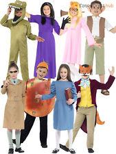 Kids Roald Dahl Fancy Dress Up Costume World Book Day Week Boys Girls Childrens