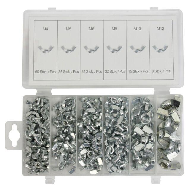 175 Teile Edelstahl V2A Beilagscheiben Sortiment Set BOX DIN 125