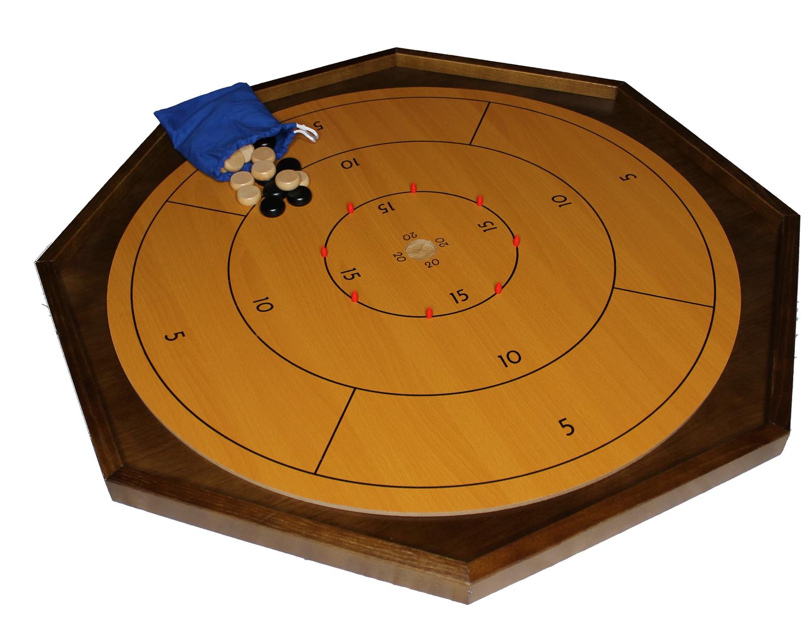Original Hobby Crokinole Board (26  x 26 )
