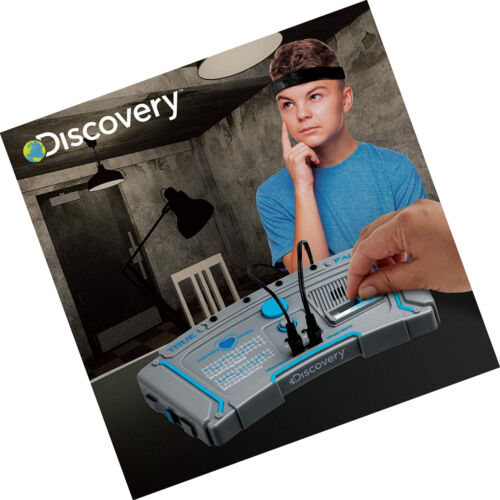 Electronic Lie Detector Portable Spy Kit Kids Toy Portable 11 Detection Cards