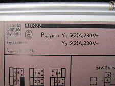 Staefa Control System RDK22 - UNIVERSAL CONTROLLER 5AMP 220VAC