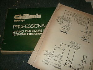 1976 1977 1978 Amc Hornet Gremlin Matador Pacer Wiring Diagrams Manual Sheets Ebay