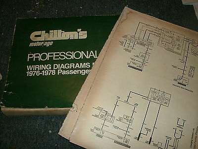 1976 1977 1978 oldsmobile 98 88 toronado starfire cutlass wiring diagrams  set | ebay  ebay