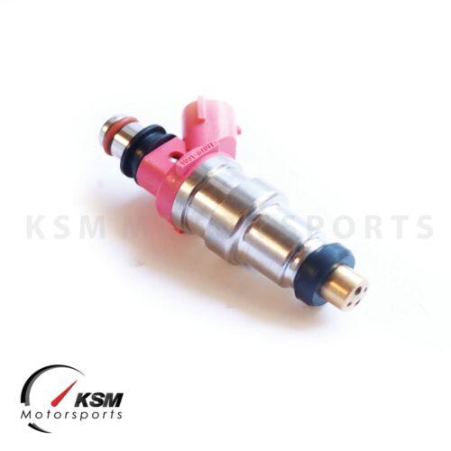 4 x 650cc Denso style Sard top feed injector CA18DE//T 200SX 4G63 EVO1-9 RX7 FC3S