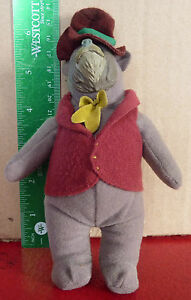 Nice-Plush-Doll-Toy-Walt-Disney-Henry-Country-Singing-Bear-6-034-McDonald-039-s-No-4