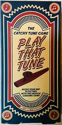 Sealed//NEW PLAY THAT TUNE The Catchy Tune Game By Paladone