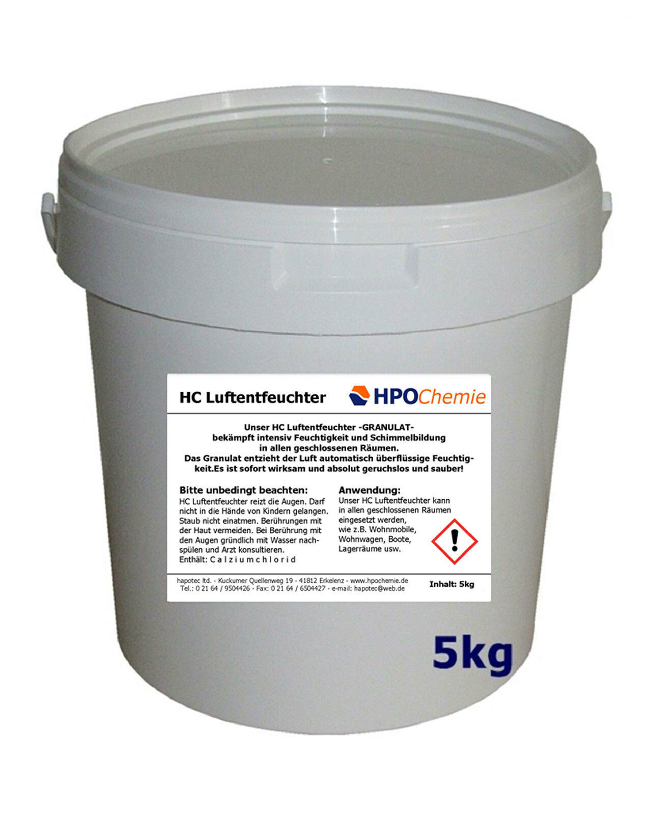 Luftentfeuchter GRANULAT 3x5kg Eimer Raumentfeuchter lose Flakes ( kg)  | Sonderaktionen zum Jahresende