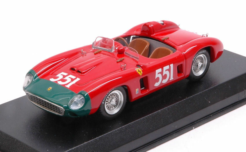 Ferrari 860 Monza  551 2nd Mm 1956 P. Collins / L. Klementaski 1:43 Model
