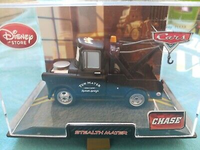 Disney Cars 2 STEALTH MATER CHASE Collector/'s Case Disney Store