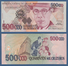 BRASILIEN / BRAZIL 500 Cruzeiros Reais (1993)  UNC P.239 b