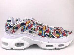 timeless design 69250 66628 Details about Nike Air Max Plus NIC QS International World Cup Flag Mens  Size 8.5