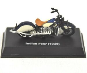 New-Ray-1939-Indian-Four-1-32-Scale-Diecast-Motorcycle-Model
