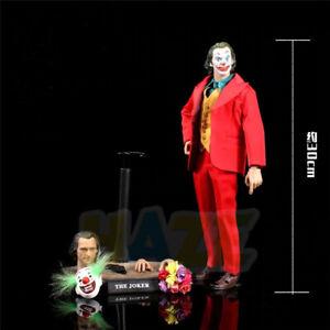HC-2019-The-Joker-Joaquin-Phoenix-Estatua-Figura-De-Accion-De-Juguete-32cm-Nuevo-En-Caja