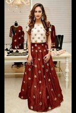 Indian Stylish Designer Bollywood Party Lehenga Choli Salwar Suit Dress Women