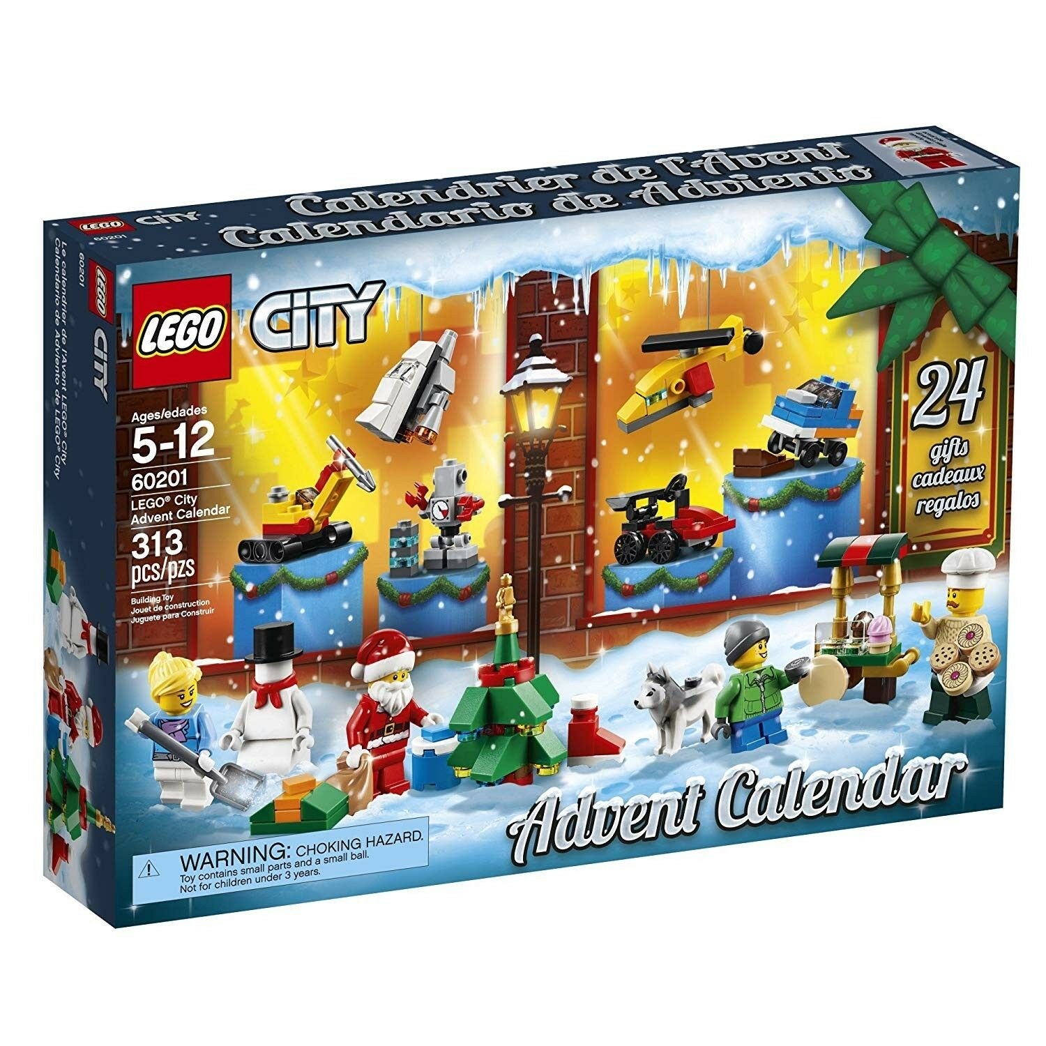 nuovo  Lego città Advent Calendar set 2018 Mini cifras Christmas  60201 Limited ed.  vendite online