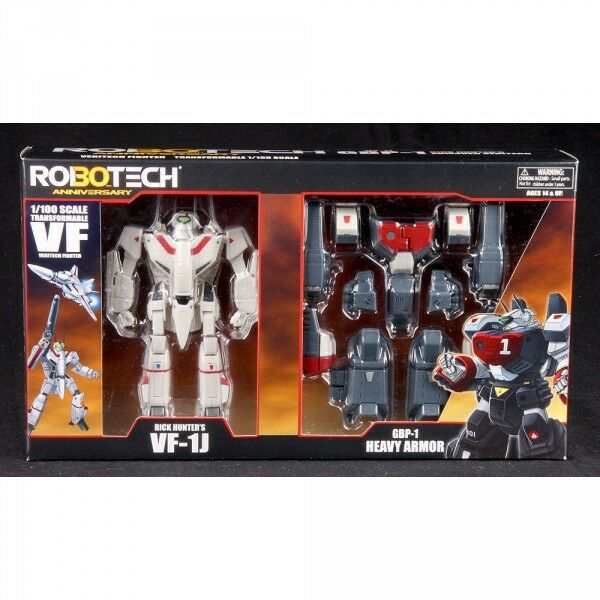 Robotech 30th Anniversario Pagliaio Di Hunter VF-1J GBP-1J Rosso Heavy warbeast