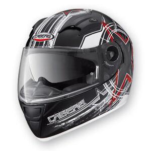 Caberg-Vox-Freehand-Motorcycle-Helmet-matt-Black-White