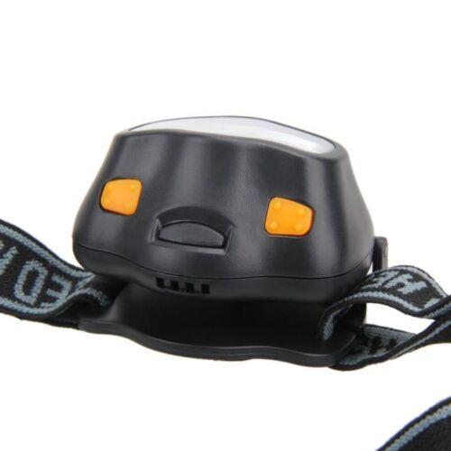 Led Head Lamp Battery Bright Night Strap Adjust Size Light BIke Camping Hiking