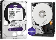 Western Digital 3TB PURPLE Surveillance Hard Drives SATA 6 Gbs 64MB WD30PURX WD