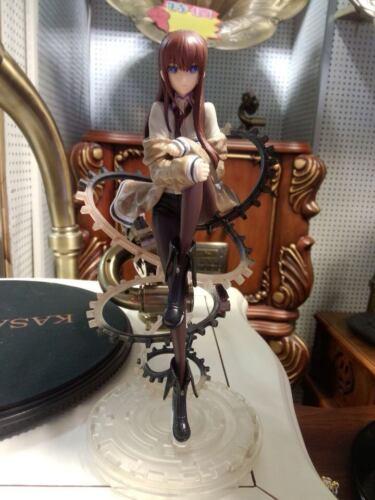 "Anime Steins Gate Makise Kurisu 1//8 PVC 22cm//8.7/"" Figure Figurine New in Box"